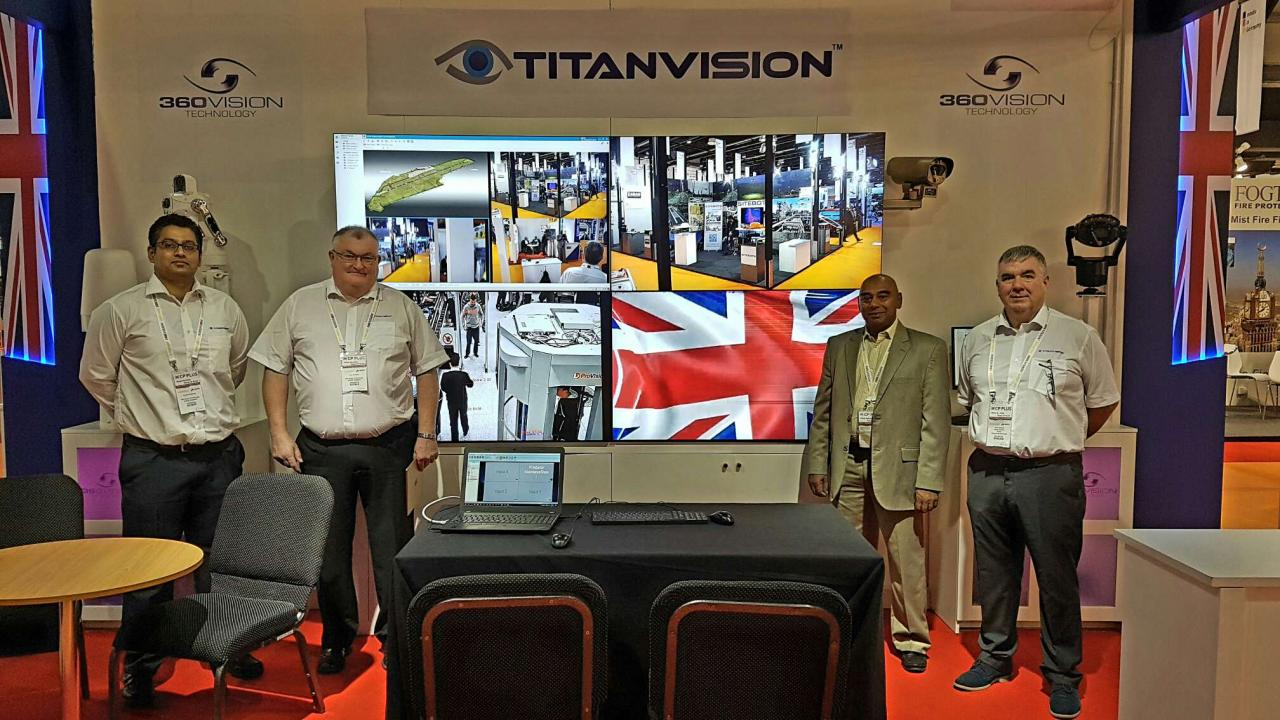 TITAN Team at Intersec 2017