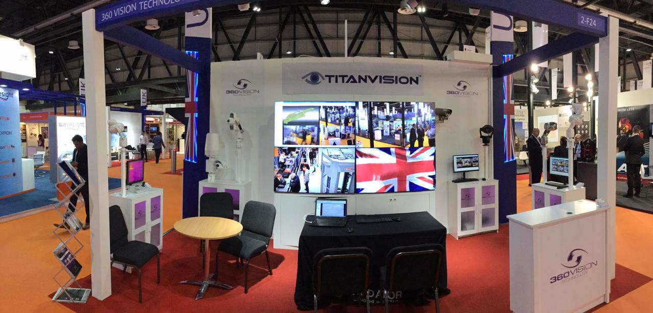 TITAN Team at Intersec 2017 - 3